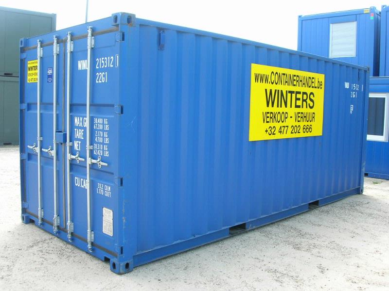 Containers 6ft tot 40ft | Containerhandel Winters