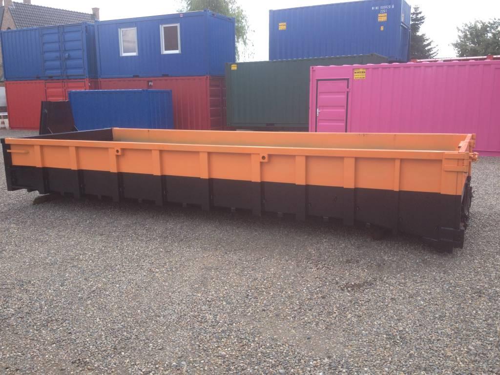 Afvalcontainer met oprijramp
