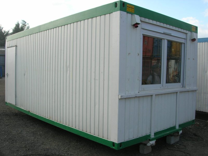 Bureelcontainers 6 x 3m