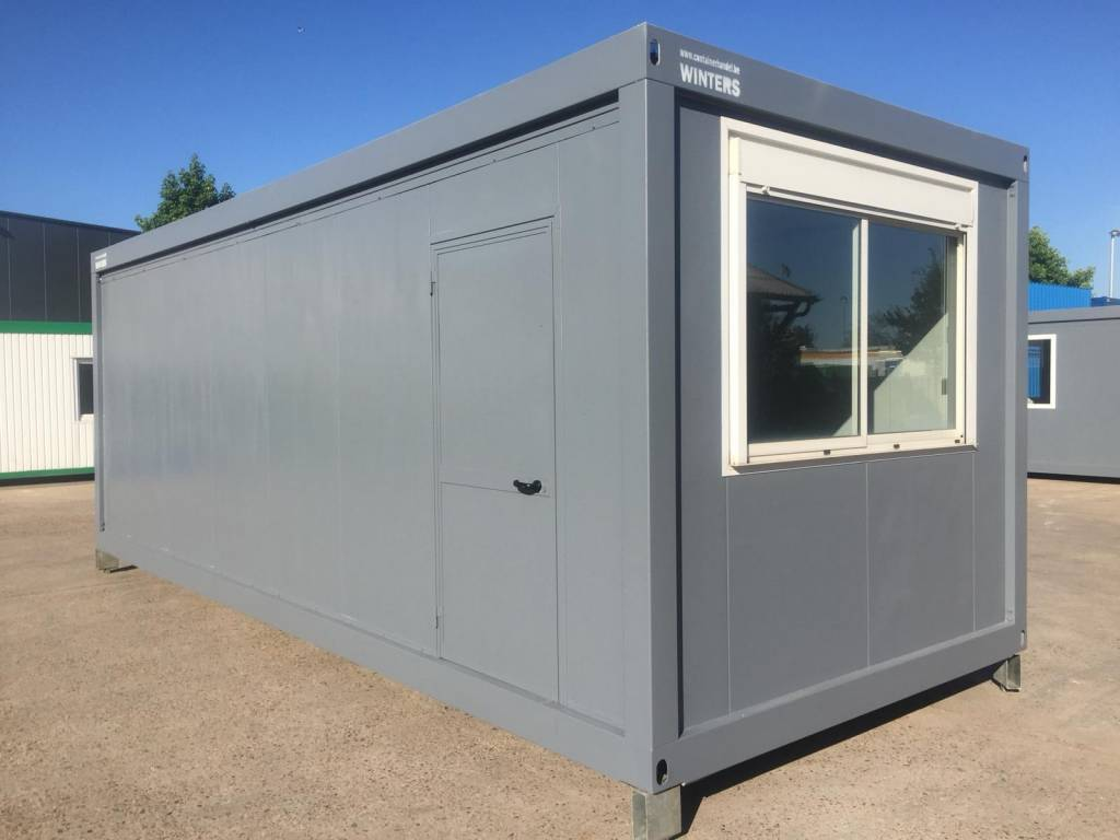 Bureelcontainers 7,5 x 3m