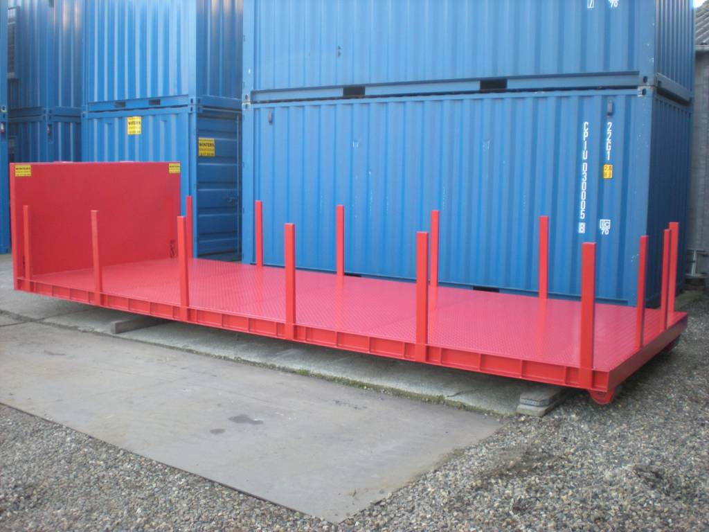 Plateau container