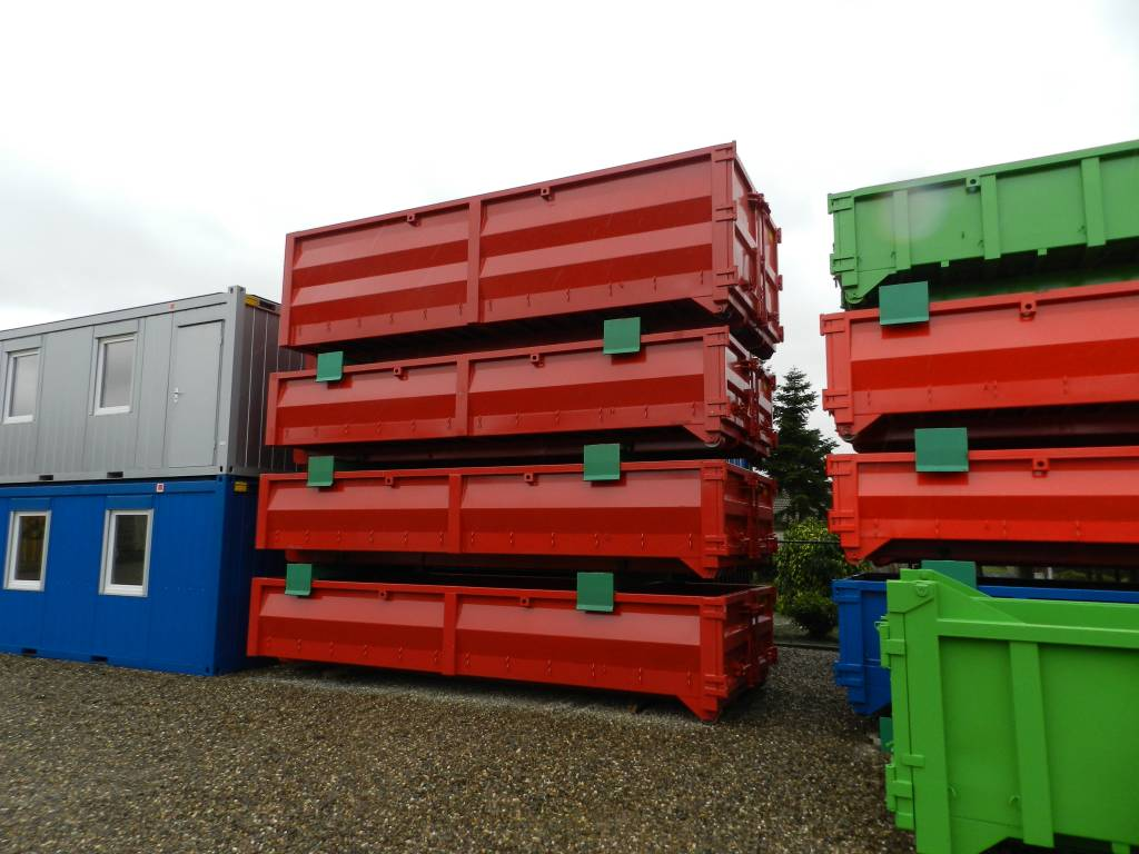 12m³ of 14m³ ECO Afvalcontainer