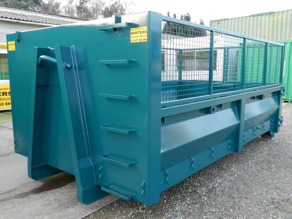 8m³ - Loofrekken Afvalcontainer