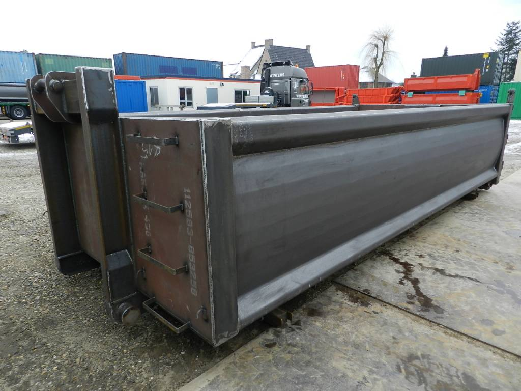 Grondcontainer in Hardox