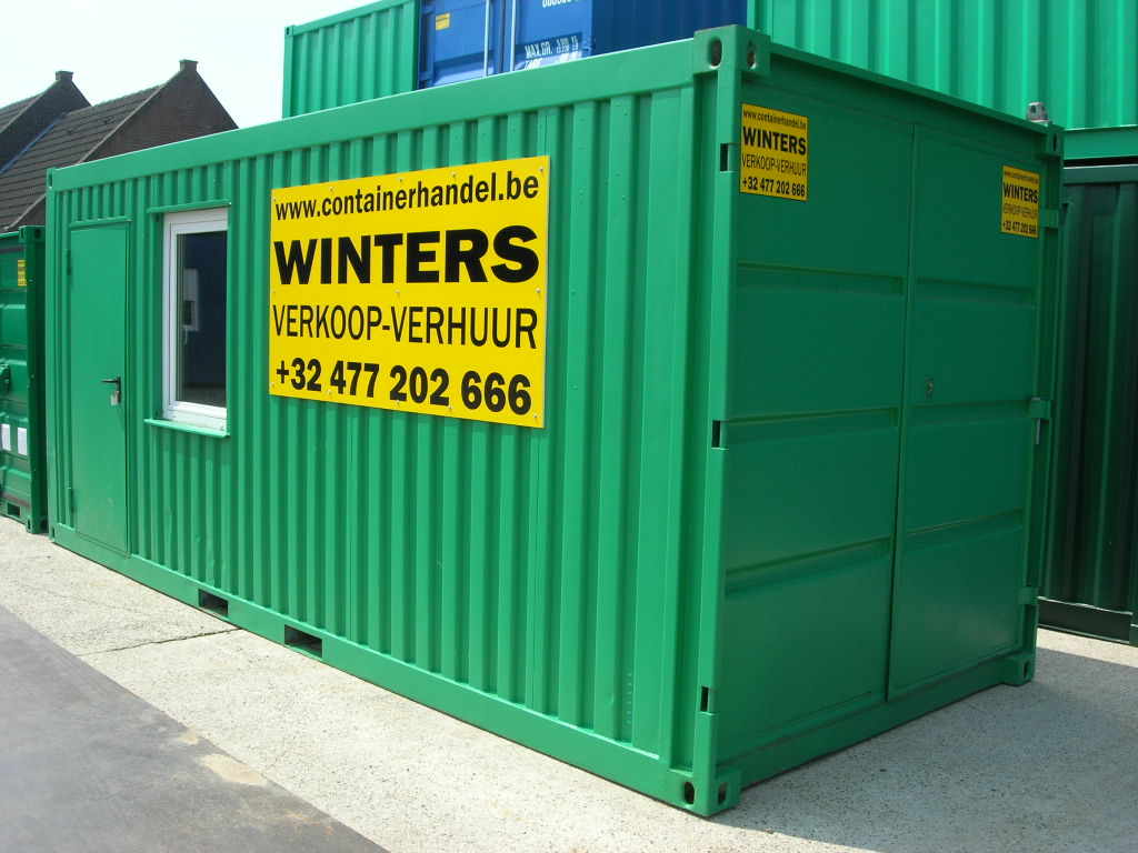 Combi container 20ft