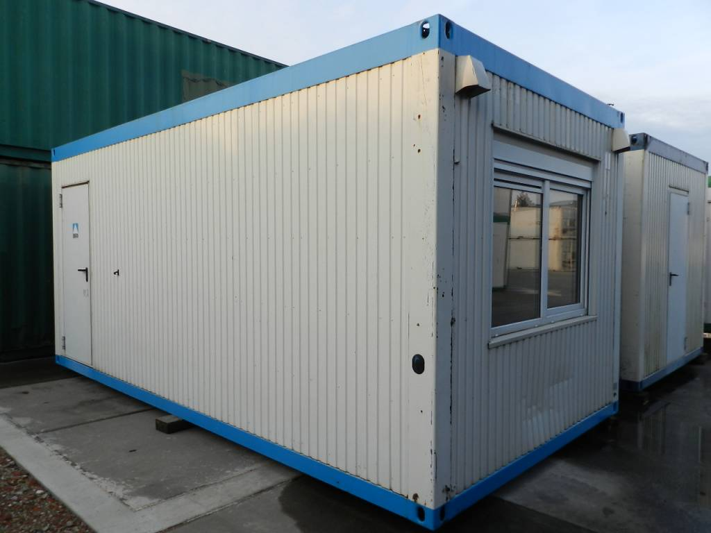 Tweedehands Bureelcontainers 6 x 3m