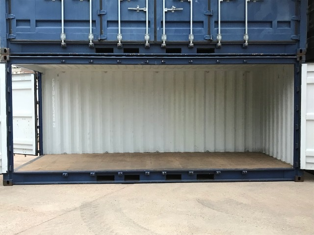 Open Side Containers 20ft