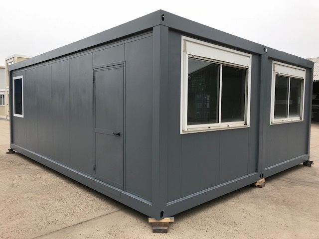 Bureelcontainers 7,5 x 6m