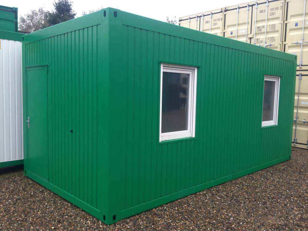 Bureelcontainer 6 x 3m