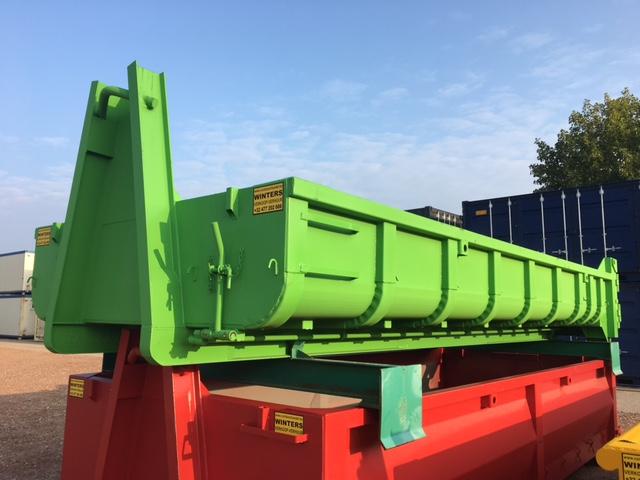 Afvalcontainer ST - Deuren/Klep