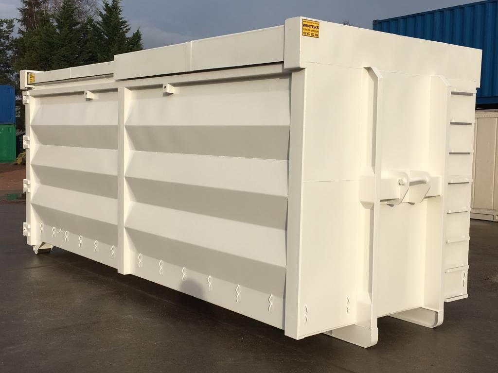 30m³ Schuifdak Afvalcontainer
