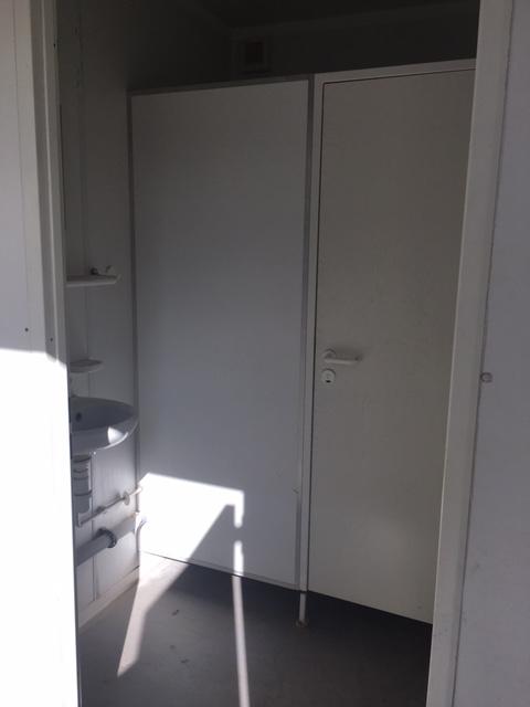 Toiletcontainer 6 x 3,00m