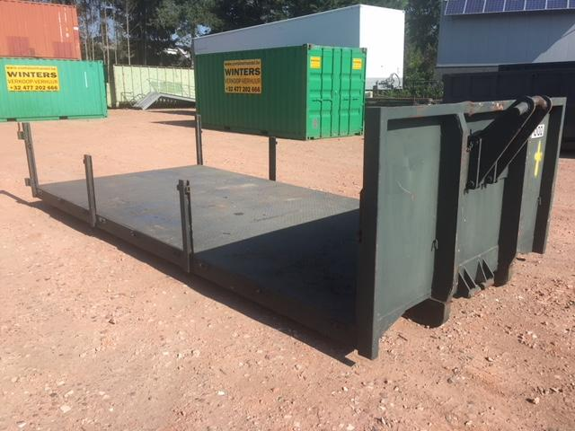 Plateau container L: 5200mm