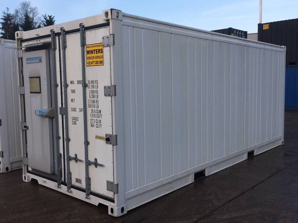 Koel-/vries containers 20ft