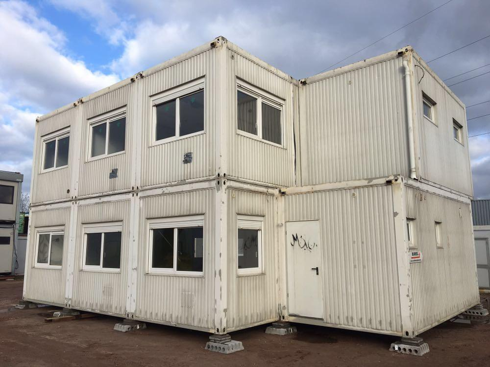 16 delig Bureelcontainers