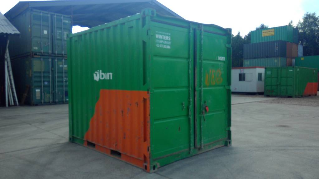 Opslagcontainers 10ft