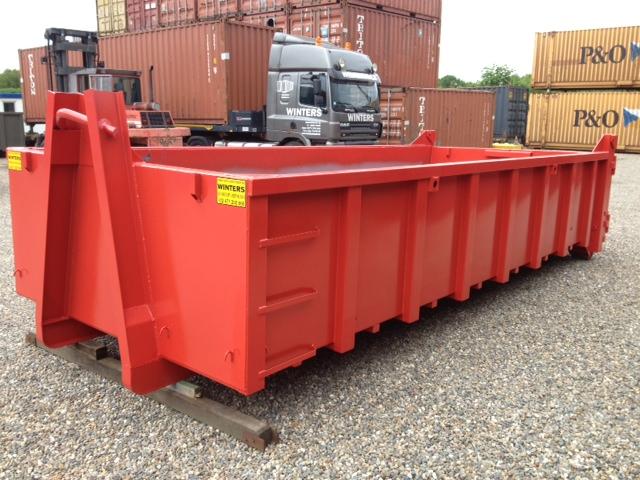 Afvalcontainer - ST - Deuren/Klep