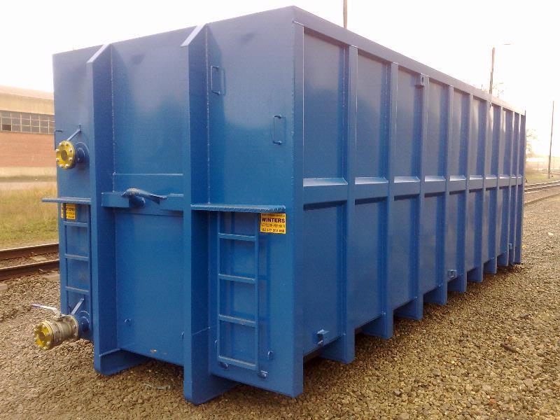 30m³ & 40m³ Slibcontainer